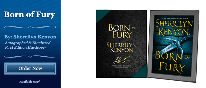 Born of Fury - Signed by Sherrilyn Kenyon