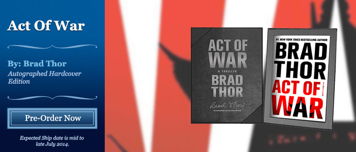 Act of War - Signed by Brad Thor