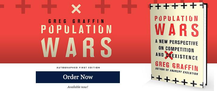 Population Wars - Signed by Greg Graffin