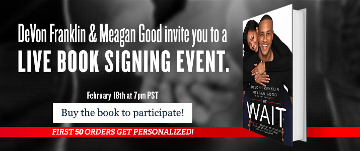 The Wait - Join the live online booksigning on February 18th at 7pm EST
