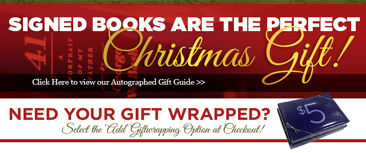Signed Books are the Perfect Christmas Gift