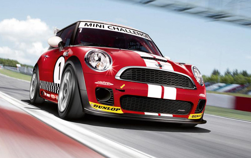 Mini Cooper Racing Bonnet And Boot Stripes