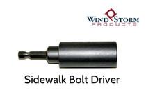 Sidewalk Bolt Driver