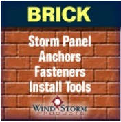 Got a Brick Home? Click here for your fastener options