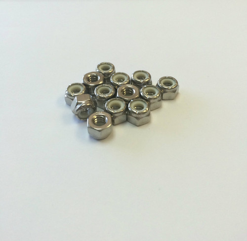 1/4-20 Stainless Steel Nylon Lock Nut