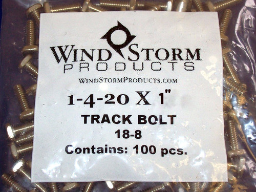 F-Track Bolts - Contractor Pack