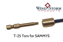 T25 Torx Driver for SAMMY Anchors