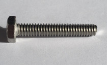 "1/4-20 x x 1-1/2"" full thread hex bolt 