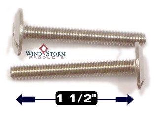 """1/4-20 x 1-1/2"""" Combo Sidewalk Bolts - Contractor Pack [100 per pack]"""