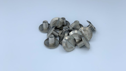 """3/8-16 x 1/2"""" 18-8 Stainless Steel Sidewalk Bolts-Sold Individually"""