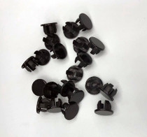 "1/2"" Black Plug for Drop in Anchors"