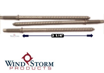"3-1/4"" PanelMate Pro Anchors in Stalgard Finish with 1-1/8"" Threaded Stud"