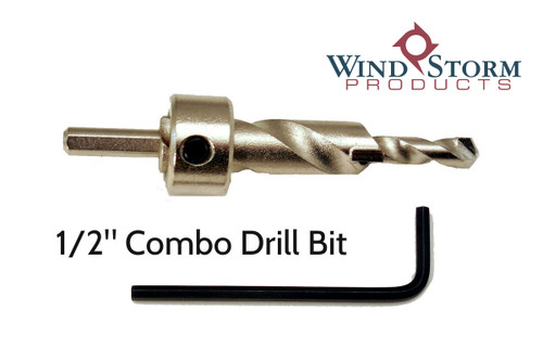 """1/2"""" Combo masonry Bit for use with Lead Anchors"""
