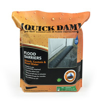 Quick Dam 10' Water Activated Flood Barrier- 1 Pack
