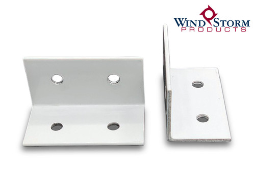 White Capri Clips for Screen Rooms and Pool Enclosures