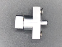 Thumb Turn Lock  | Mill | 1/4-20 screws