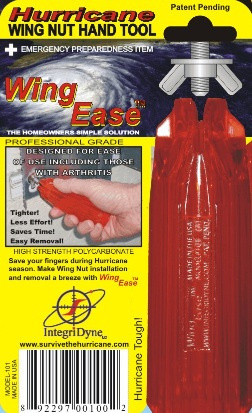 Wing Ease Wingnut Driver—Install and Remove Washered Wingnuts with Ease!