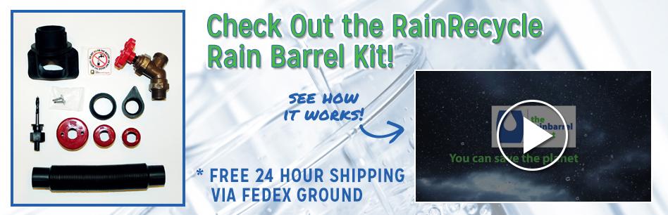 Buy rain barrels shop rain barrel kits rain barrel pumps online rightleft solutioingenieria Choice Image