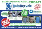 RainRecycle Rain Barrel Kit-10 Kit Value Pack Free Shipping