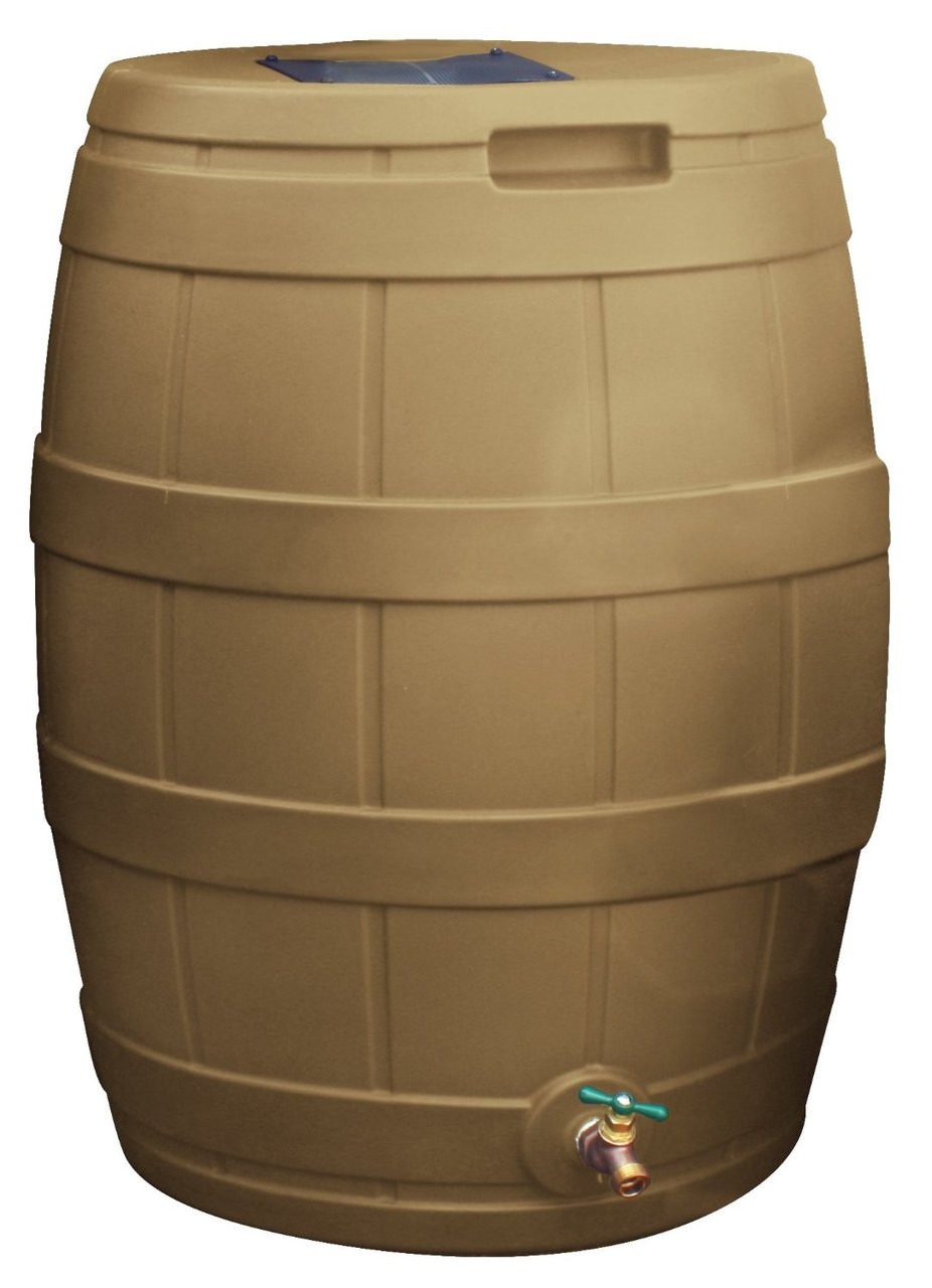 Good Ideas 50 Gallon Rain Vault Terra Cotta