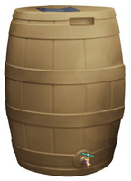 50 gallon good ideas rain barrel