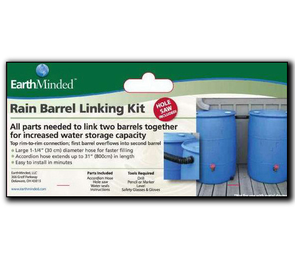 rain barrel linking kit