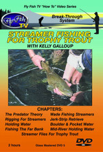 Streamer Fishing for Trophy Trout - DVD Front Cover