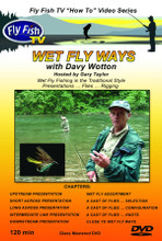 Wet Fly Ways - Front Cover - DVD