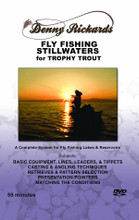 Fly Fishing Still Water for Trophy Trout - DVD Front