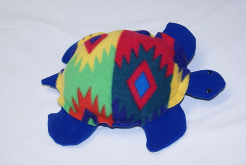 Warm-Me-Turtle - Aztec Fleece