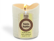 Bamboo Porcelain Soy Candle - Vanilla Bourbon 7.8 oz