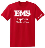 EXPLORER ADULT RED STUGO  T-SHIRT (S-3X)
