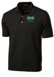 Black Mens Polo