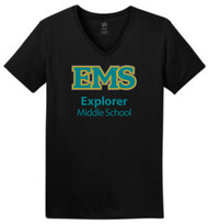 EXPLORER LADIES COMFORTSOFT V-NECK T-SHIRT