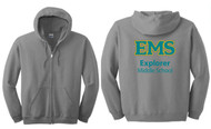 EXPLORER ADULT FULL ZIP HOODED SWEATSHIRT