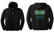 EXPLORER YOUTH FULL ZIP HOODED SWEATSHIRT