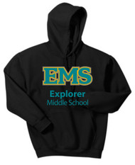 EXPLORER YOUTH PULLOVER HOODED SWEATSHIRT