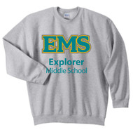 EXPLORER ADULT CREWNECK SWEATSHIRT