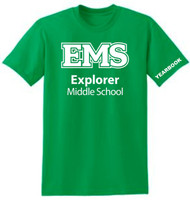 EXPLORER YOUTH IRISH GREEN YEARBOOK T SHIRT (XS-L)