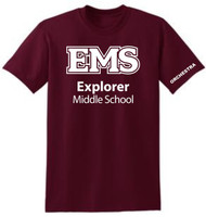 EXPLORER ADULT MAROON ORCHESTRA T SHIRT (S-3X)