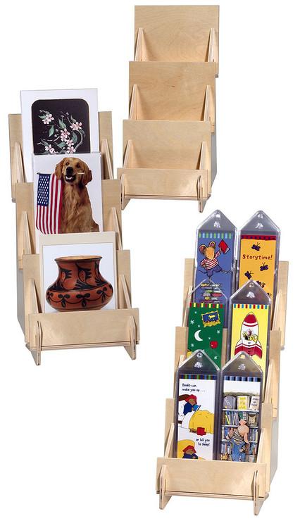 4326 3 tier wooden counter rack
