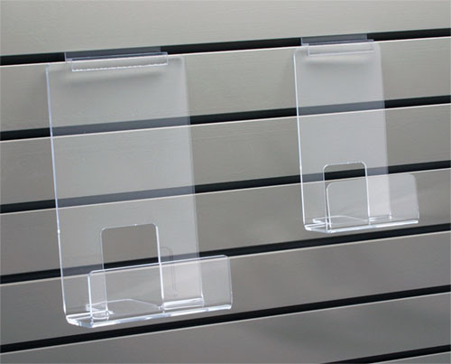 Face Out Book Shelf With Lip For Slatwall