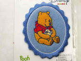 Disney Pooh w Duckling Fleece Patch Embroidered Sew On