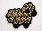 Woven Lamb Sheep Embroidered Iron On Patch