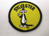 Sylvester Cat Embroidered Sew On Patch