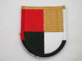 3rd Special Forces Group (Airborne) Iron On Patch 1960s