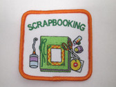 Scrapbooking Embroidered Sew On Patch