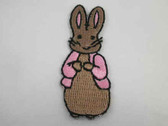 Bunny Rabbit Child Infant Iron On Patch Applique