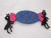 Ants with Candy Iron On Applique Patch