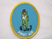 First Aid Child Embroidered Sew On Patch 3 Inch